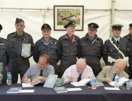Former Bomber Command Veterans and ex POWs