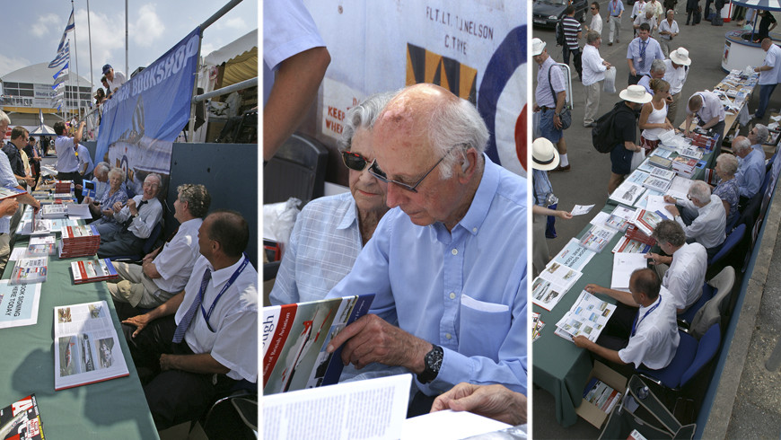 Farnborough - 100 years of test flying by Peter J. Cooper book launch and signing