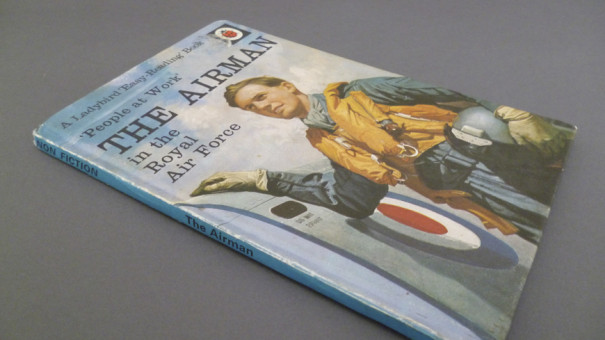 Ladybird Books Series 606B people at work The_Airman in the Royal Air Force